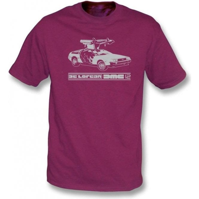 DeLorean DMC-12 (Inspired by Back to the Future) Organic T-shirt