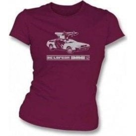 DeLorean DMC-12 (Inspired by Back to the Future) Organic Women's T-shirt