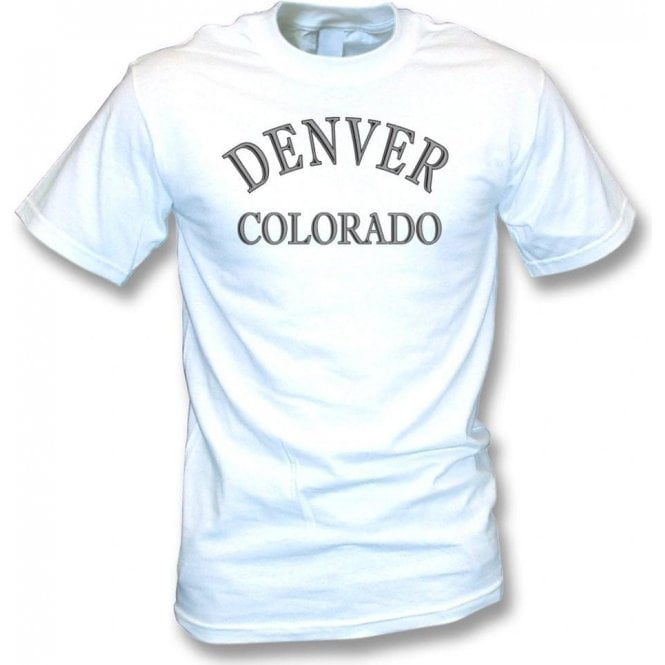 Denver, Colorado (as worn by Dee Dee Ramone) t-shirt