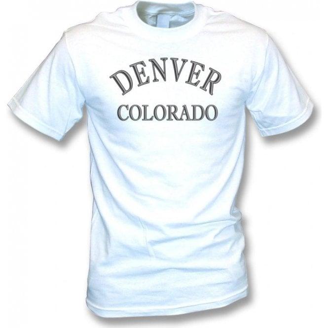Denver, Colorado (as worn by Dee Dee Ramone) t-shirt
