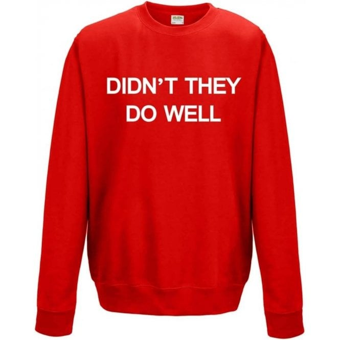 Didn't They Do Well (As Worn By David Gilmour, Pink Floyd) Sweatshirt