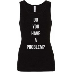 Do You Have A Problem? (As Worn By Keith Flint, The Prodigy) Womens Baby Rib Tank Top