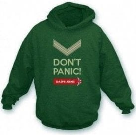 Don't Panic (Dad's Army) Hooded Sweatshirt