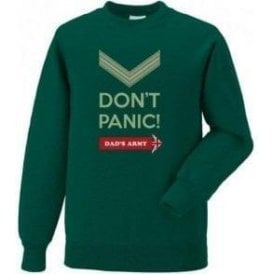 Don't Panic (Dad's Army) Sweatshirt