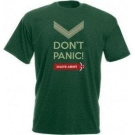Don't Panic (Dad's Army) T-Shirt