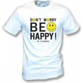 Don't Worry Be Happy (As worn by Michael Stipe of REM) T-shirt