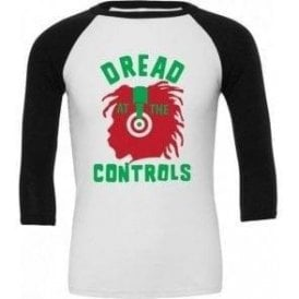 Dread At The Controls (As Worn By Joe Strummer, The Clash) 3/4 Sleeve Unisex Baseball Top