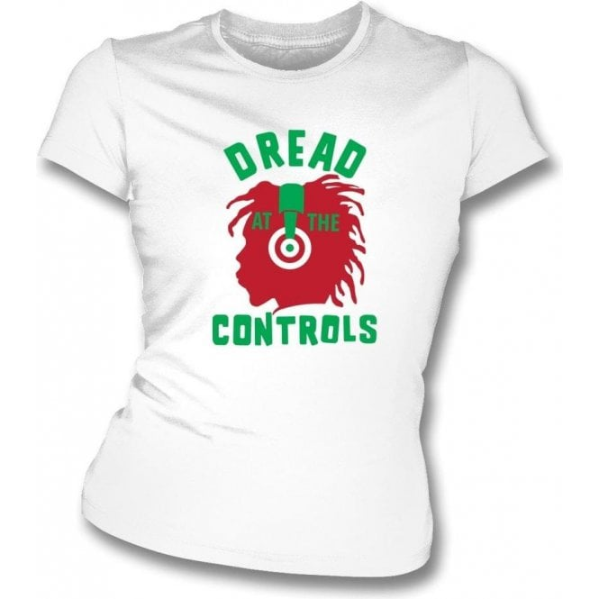 Dread At The Controls Women's Slim Fit T-shirt As Worn By Joe Strummer (The Clash)