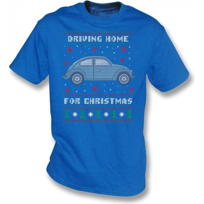 Driving Home For Christmas (VW Beetle) Kids T-Shirt