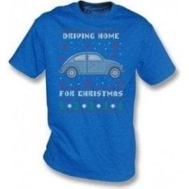 Driving Home For Christmas (VW Beetle) T-Shirt
