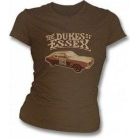 Dukes Of Essex Vintage Wash Womens Slimfit T-shirt
