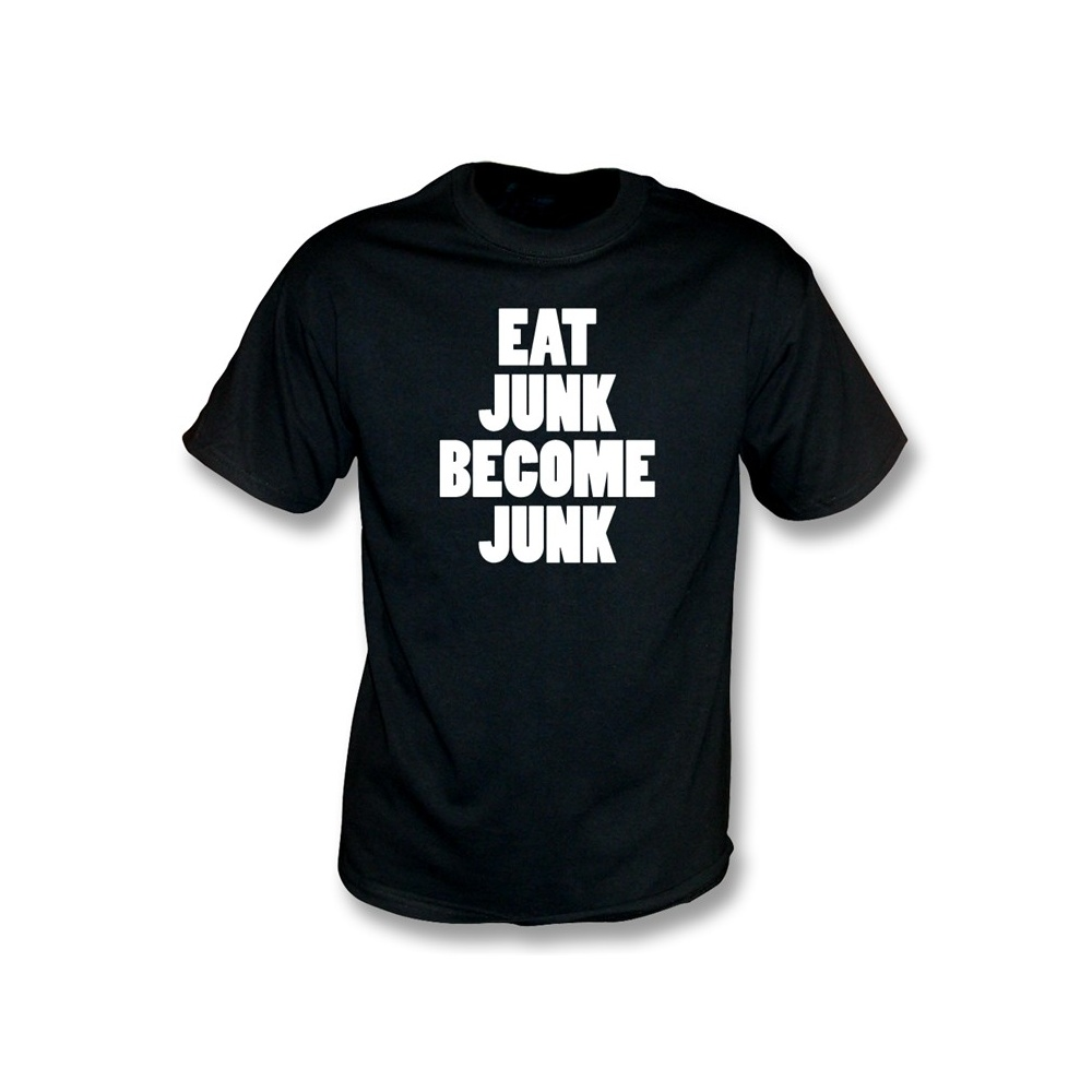 a6ed64adb556 Eat Junk Become Junk (as worn by Bloc Party) t-shirt