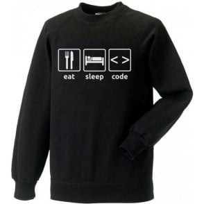 Eat Sleep Code Sweatshirt