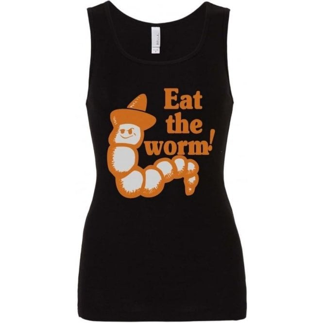 Eat The Worm (As Worn By Axl Rose, Guns N' Roses) Women's Baby Rib Tank Top