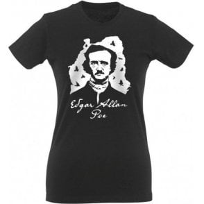 Edgar Allan Poe Womens Slim Fit T-Shirt