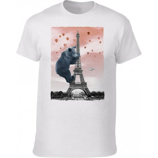 Eiffel Bear Kids T-Shirt