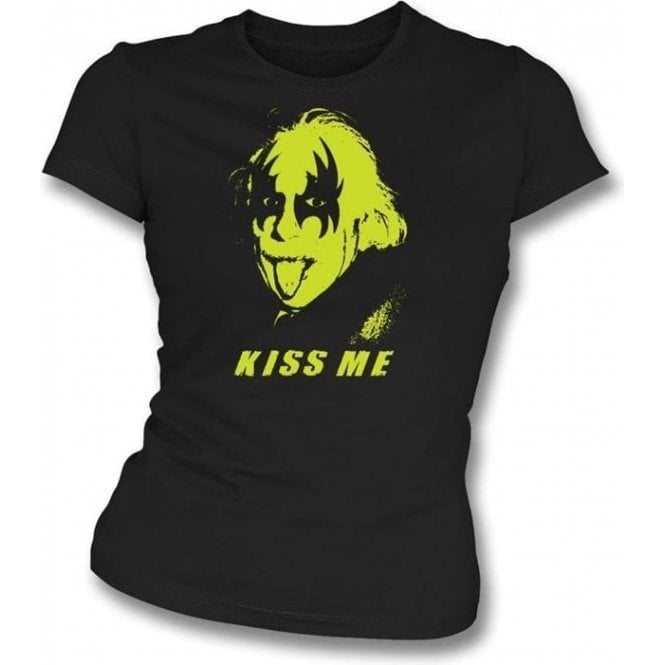 Einstein - Kiss Genius Womens Slimfit T-shirt