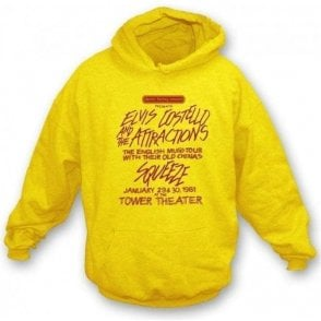 Elvis Costello Squeeze Hooded Sweatshirt