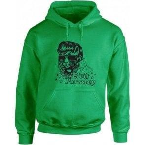 Elvis Purrsley Kids Hooded Sweatshirt