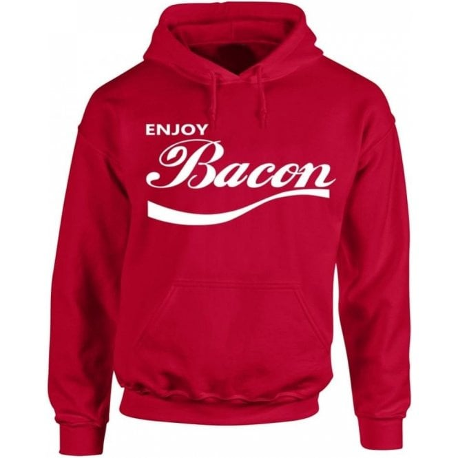 Enjoy Bacon Kids Hooded Sweatshirt