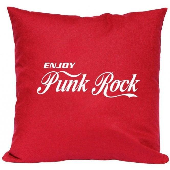 Enjoy Punk Rock Cushion