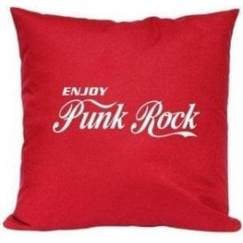 Enjoy Punk Rock Cushion