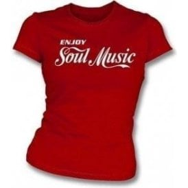 Enjoy Soul Womens Slimfit T-shirt