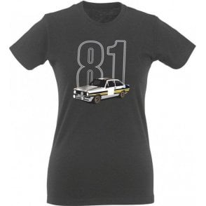 Escort 81 Womens Slim Fit T-Shirt