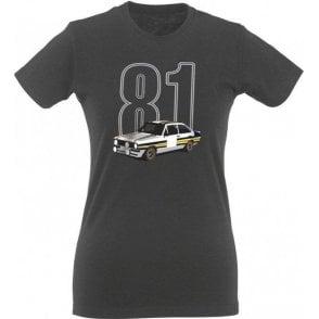 Escort 81 Womens Slim Fit T-Shirt
