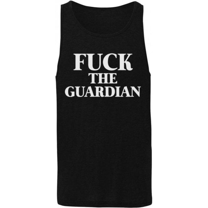 F*ck The Guardian (As Worn By Morrissey, The Smiths) Men's Tank Top