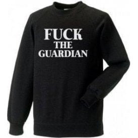 F*ck The Guardian (As Worn By Morrissey, The Smiths) Sweatshirt