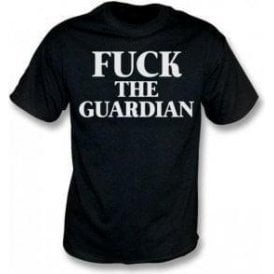 F*ck The Guardian (As Worn By Morrissey, The Smiths) T-Shirt
