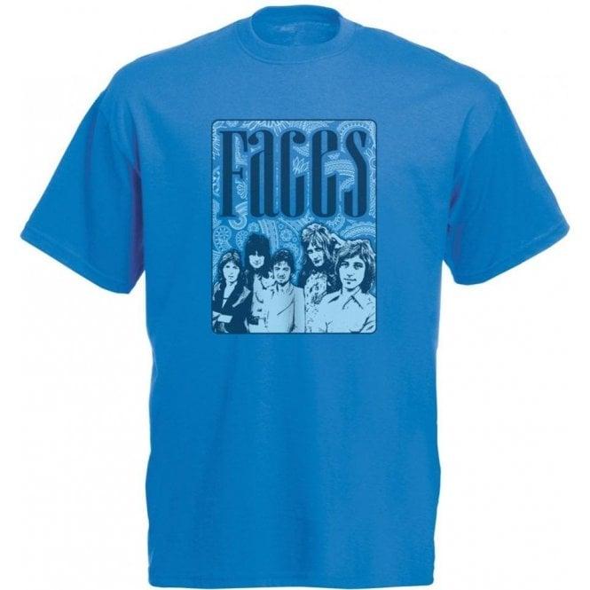 Faces 70's Collage Vintage Wash T-Shirt