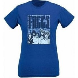 Faces 70's Collage Womens Slim Fit T-Shirt