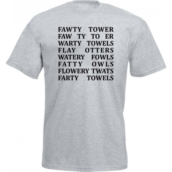 Fawlty Towers Anagrams T-Shirt
