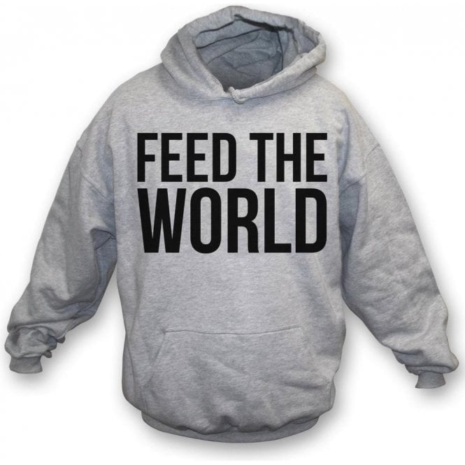 Feed The World (As Worn By David Bowie) Hooded Sweatshirt