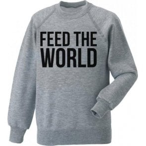 Feed The World (As Worn By David Bowie) Kids Sweatshirt