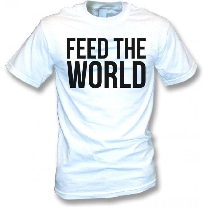 Feed The World (As Worn By David Bowie) Kids T-Shirt