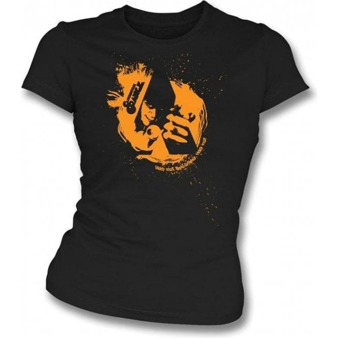 Film Swirl (Inspired by A Clockwork Orange) Womens Slimfit