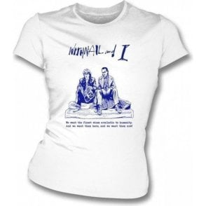 Finest Wines (Inspired by Withnail and I) Womens Slim Fit T-Shirt