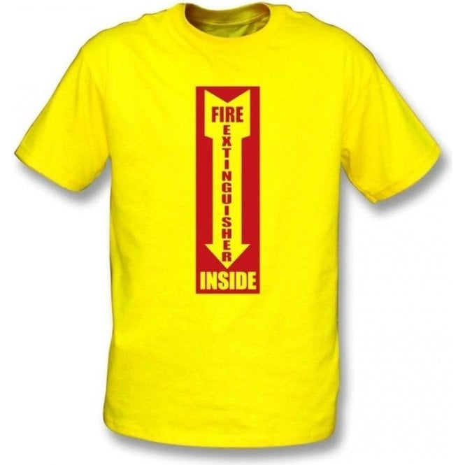 Fire Extinguisher Inside T-shirt