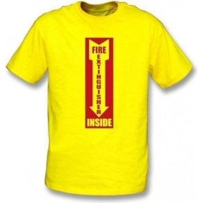 Fire Extinguisher Inside T-shirt