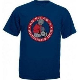 Fit As A Butcher's Dog Kids T-Shirt