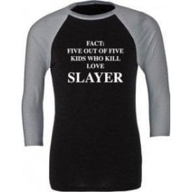 Five Out Of Five Kids Who Kill Love Slayer 3/4 Sleeve Unisex Baseball Top