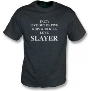 Five out of five kids who kill love Slayer - Vintage wash t-shirt