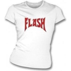 Flash (As Worn By Freddie Mercury, Queen) Womens Slim Fit T-Shirt
