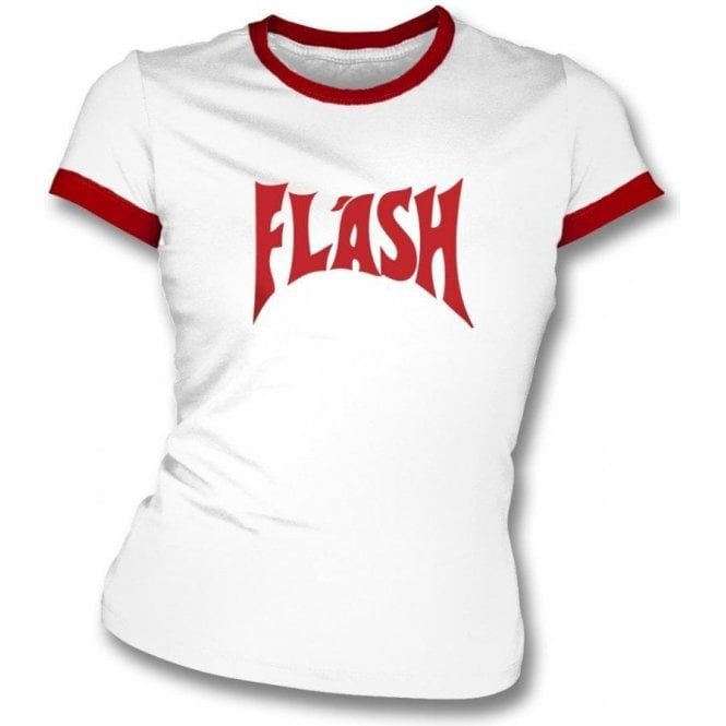 96903b6c Flash (as worn by Freddie Mercury) Womens slimfit t-shirt