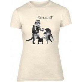 Fleetwood Cat Womens Slim Fit T-Shirt
