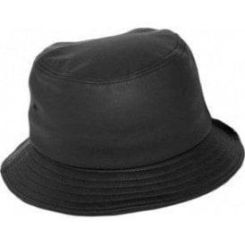 Flexfit Full Imitation Leather Bucket Hat