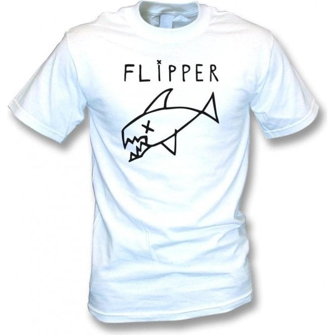 Flipper (As Worn By Kurt Cobain, Nirvana) T-Shirt